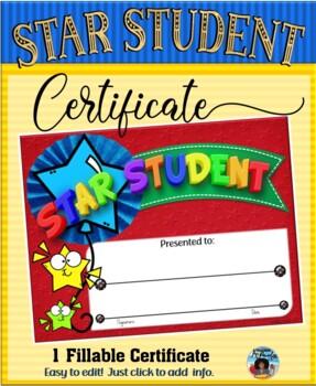 Star Certificate 1