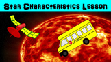 Star Characteristics No Prep Lesson with Power Point, Worksheet, Research Prompt