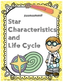 Star Characteristics and Life Cycle - Quiz (NGSS HS-ESS1-1