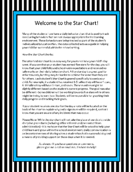 Star Chart Behavior System