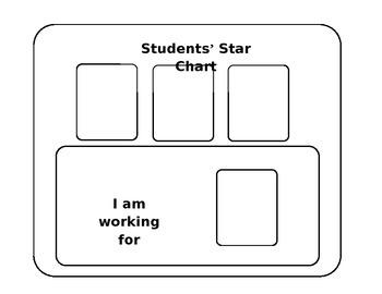 Star Chart for Positive Reinforcement