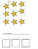 Star Chart with 3 Spaces & Extra Stars