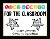 Star Charts: Classroom Incentive Charts