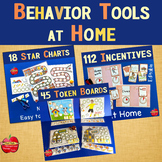 Star Charts, Incentive Visuals, Token Boards-Behavior Management for Home BUNDLE
