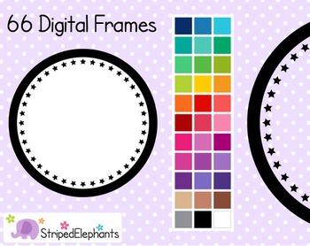 Star Circle Digital Frames 1