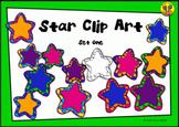 Star Clip Art - Set 1