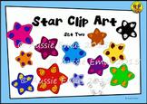 Star Clip Art - Set 2