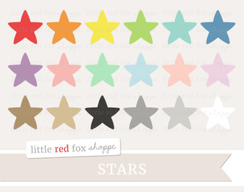 Star Clipart; Space, Shape, Weather