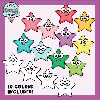 Star Clipart FREEBIE  |  Star Buddies  |  Clipart Stars