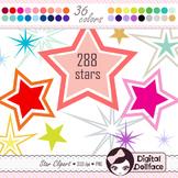Star Clipart / Star Frame Clip Art