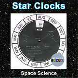 Stars and Constellation Clock