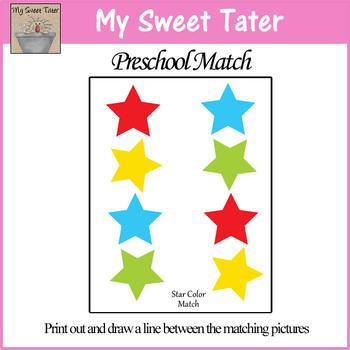 Star Color Match Sheet