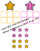 Star Color Sorting File Folder Game for Early Childhood Sp