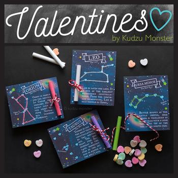 Star Constellations Valentines