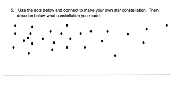 star constellations worksheet assessment by educprek12 tpt