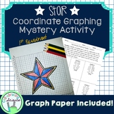 Star Coordinate Graphing Mystery Activity