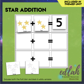 Star Counting Cards & Game Board