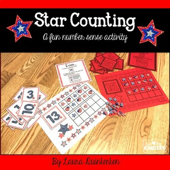 Star Counting Math-A Fun Number Sense Activity