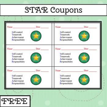 Star Coupons to Reward Good Behavior.