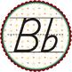 Star D'Nealian Letter Badges