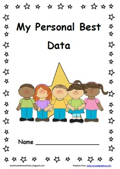 Star Data Pack/Folder/Notebook/Binder for each 1st Grader's Personal Best