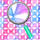 Star Diamond Handpainted Watercolor Digital Paper / Backgrounds Clip Art