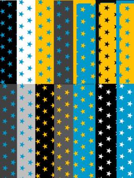 Star Digital Pages: blue, gold, gray, black