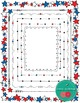 Star Doodle Frames / 4th of July Borders