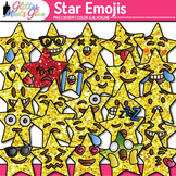 Star Emoji Clip Art   Emoticons and Smiley Faces for Brag Tags & Classroom Decor