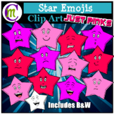 Star Emojis Clipart Just Pinks
