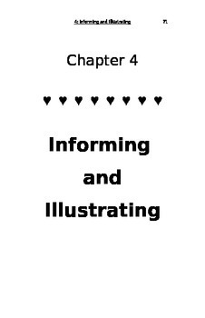 Star Essays / 4: Informing and Illustrating