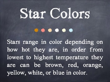 Star Facts PowerPoint