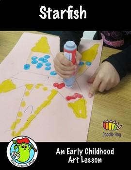 Starfish Art Lesson