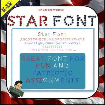 EE Star Font