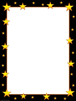 Star Frames Borders Clip Art For Personal And Commercial Use By Mrsbrien