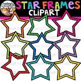Star Frames Clipart {Frames Clipart}