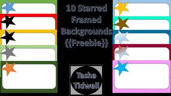 Star Frames Version 1 {{Freebie}}
