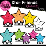 Star Friends Clipart