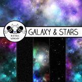 Star & Galaxy Paper Backgrounds (Easy TOU)
