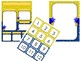 Star Gazers Classroom Decor Bundle Yellow and Blue (Editable)