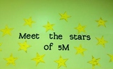 Star Goal Setting in all curriculum areas for long term or