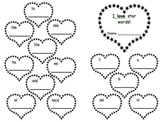 Star Hearts sight words