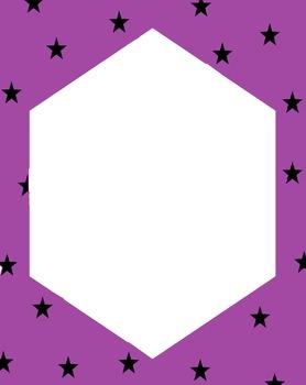 Star Hexagon Frames