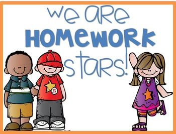 Star Homework Bookmark and Posters