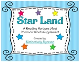 Star Land a Reading Horizons MCW Supplement Game