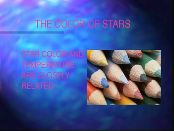 Star Lifecycle Powerpoint