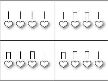 Star Light Rhythm Matching (practice ta & ti-ti)