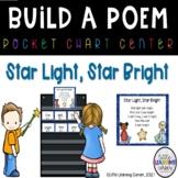 Star Light Star Bright Build a Poem Pocket Chart Center