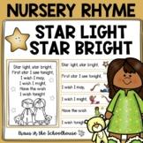 Star Light Star Bright Nursery Rhyme Activities