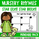 Activities and Worksheets Nursery Rhymes Star Light, Star Bright
